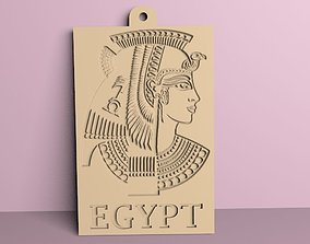 3D print model cleopatra medallion