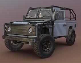 Land Rover Defender - Conqueror 3D model