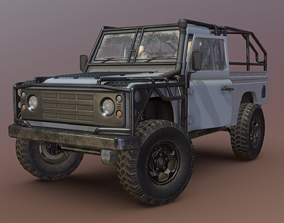 Land Rover Defender - Conqueror 3D asset