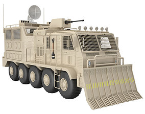 Military Truck Concept 2 3D