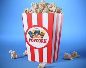 3D Popcorn Box