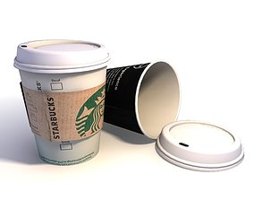paper 3D model Coffee Cup