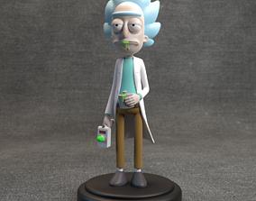 Rick Sanchez - Rick and Morty 3D printable model