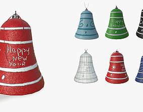3D model Set of Christmas toys for the new year