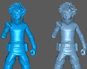 3D print model Izuku Midoriya - My Hero Academia