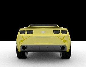 3D model Chevrolet camaro recing