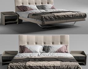 3D model Aurora Due Bed