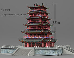 Asian Tower film 3D model