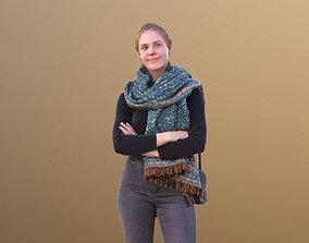 3D asset Marie 10399 - Standing Casual Woman