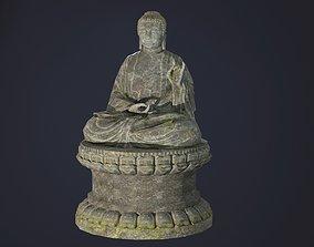 Buddha Statue seated 3D asset