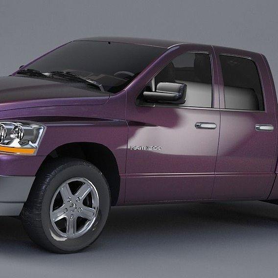 Dodge 4x4 RAM 1500 3D model