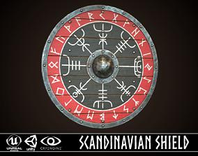 Viking Shield 19 3D model