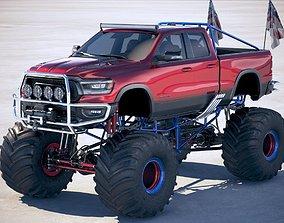 suv Dodge RAM 1500 Rebel 2019 Monstertruck 3D