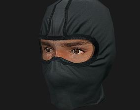 Mask1 3D asset