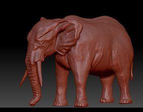 printable Elephant 3D Model for print