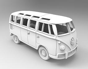 Volkswagen T1 3D print model bus