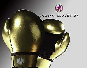 Boxing Glove-Glod 3D asset