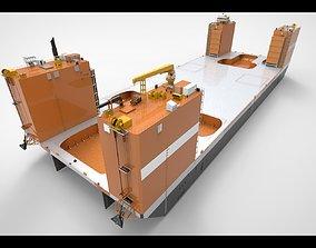 Drydock dockship 3D model