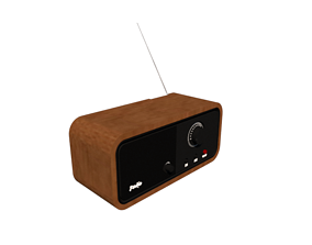 radio 3D print model Radio