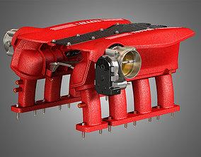 488 GTB Engine Intake Manifold 3D model