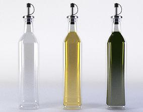 Olive Oil Bottle Set 3D