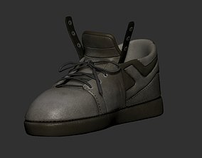 3D shoe model and poly paint