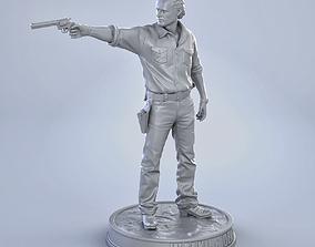 Rick Grimes 3D print model