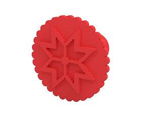 3D print model Stamp or Cookie stamp