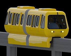 Monorail Train 3D