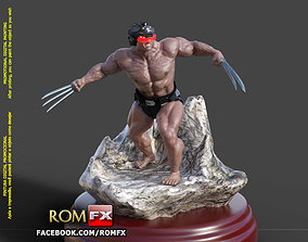 Wolverine Weapon X - Figure Printable