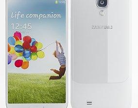 Samsung I9506 Galaxy S4 White 3D