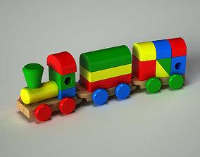 3D model Train Toy