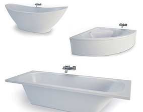 3D model Bathtubs collection
