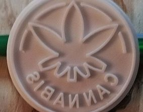 3D printable model bakery cookie stamp 2
