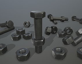 3D asset realtime Bolts industry
