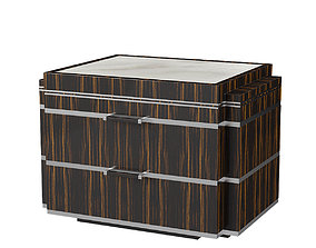 3D model Pollaro Bedside Table YF108