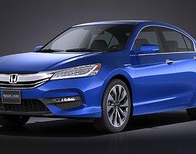 3D Honda Accord Hybrid 2017