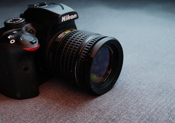 Camera-Nikon D3400 3D Model