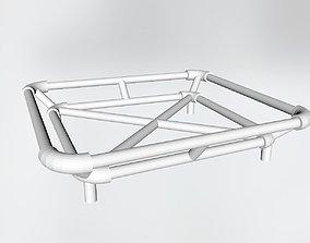 Roof rack scale model