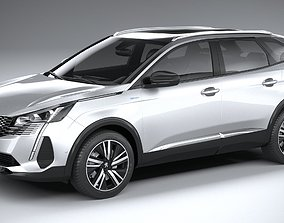 Peugeot 3008 2021 3D model