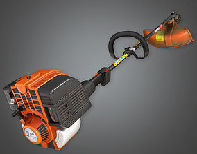 3D asset Weed Trimmer TLS - PBR Game Ready