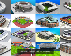 Stadiums Collection Pack 13 3D model