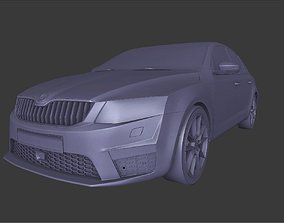 Skoda Octavia RS Game model 3D asset low-poly