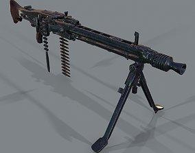 MG-42 3d model PBR