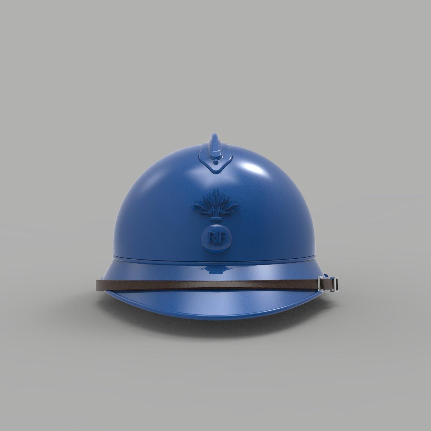 French Infantry Helmet WW1