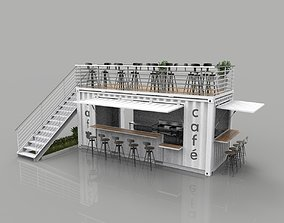 3D Container Cafe Mod