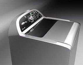 3D model Whirlpool Cabrio Platinum washer loader