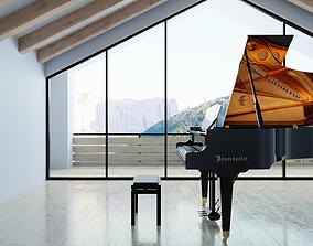 3D Boesendorfer Grand Piano 200