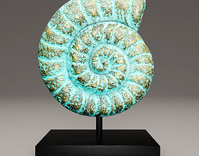 3D ammonite shell 1