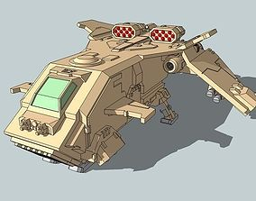 6mm StormTurkey Dropship 3D print model